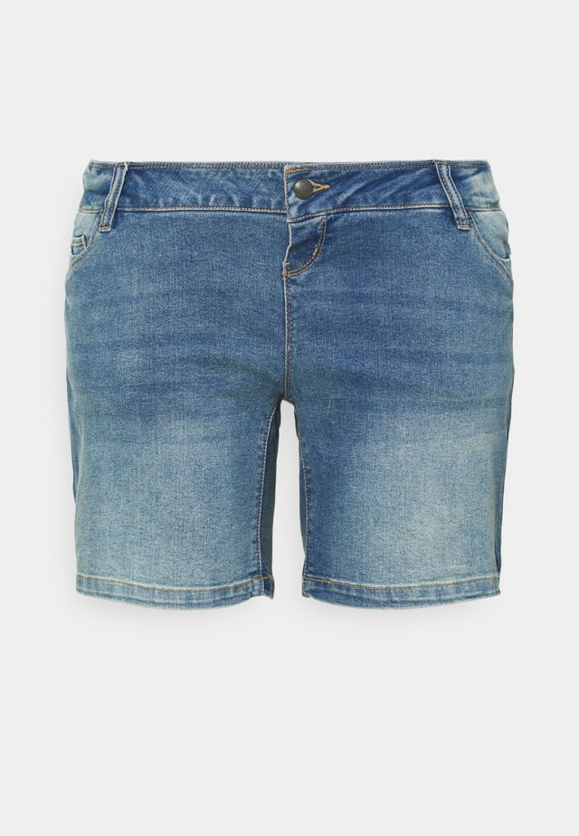 MLFONTANA SLIM - Jeansshorts - light blue