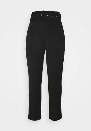 YASRUSTICA ANKLE PANT - Stoffhose - black