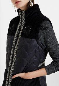 Desigual - EDIMBURGO - Lehká bunda - black - 3