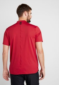 Nike Golf - TIGER WOODS DRY VAPOR REFLECT POLO - T-shirt med print - gym red/black - 2
