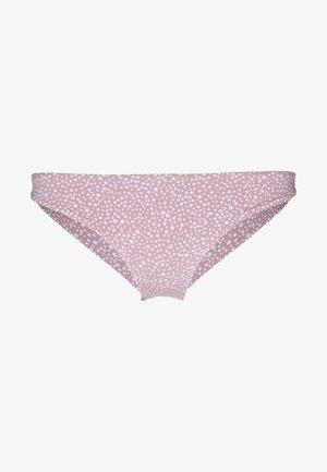 BEACH CLASSICS MINI BOTTOM - Bikini bottoms - mauve