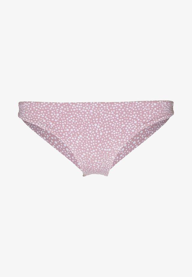 BEACH CLASSICS MINI BOTTOM - Dół od bikini - mauve