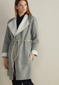 Falconeri - Winter coat - grigio/gesso - 3
