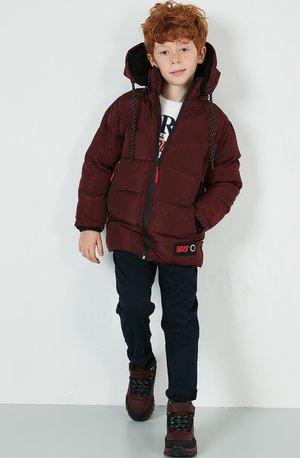 Zimní kabát - bordeaux