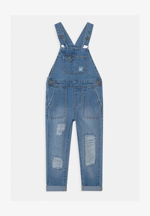 GINNIE SLOUCH - Tuinbroek - blue denim