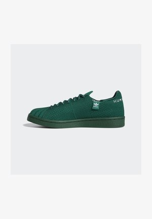 PW SUPERSTAR PK UNISEX - Sneaker low - dark green/sky tint