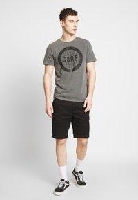 Jack & Jones - JCOPARADOX TEE CREW NECK - T-shirt print - asphalt - 1