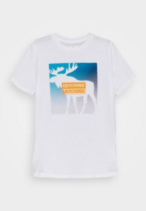 PRIMARY LOGO - Print T-shirt - white