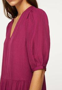OYSHO - Day dress - dark purple - 4