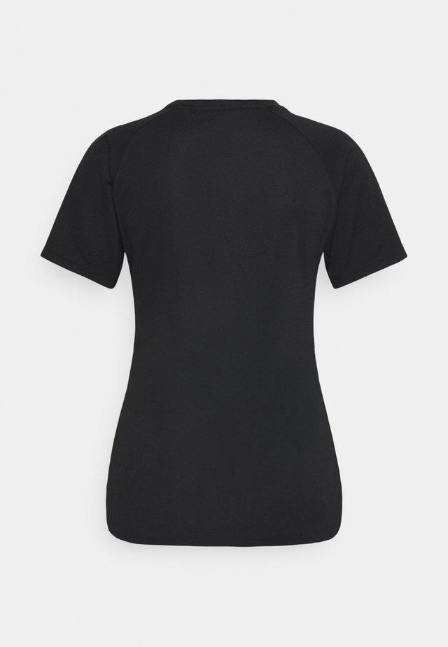 PERFORMANCE LOGO - T-shirt con stampa - black