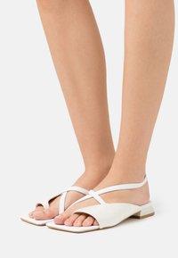 Trendyol - T-bar sandals - white - 0