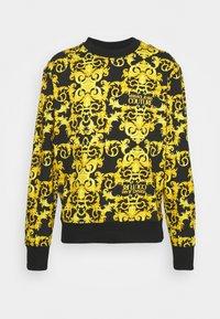 Versace Jeans Couture - LOGO BAROQUE  - Sweatshirt - black - 6