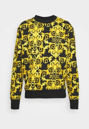 LOGO BAROQUE  - Sweatshirt - black