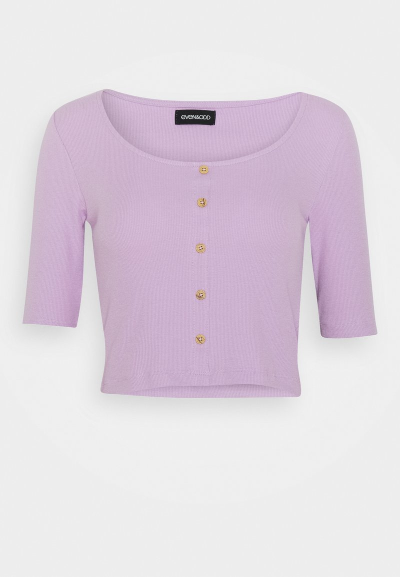 Even&Odd - T-shirts med print - lilac