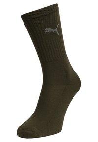 Puma - SPORT 6 PACK UNISEX - Sports socks - green/grey - 1