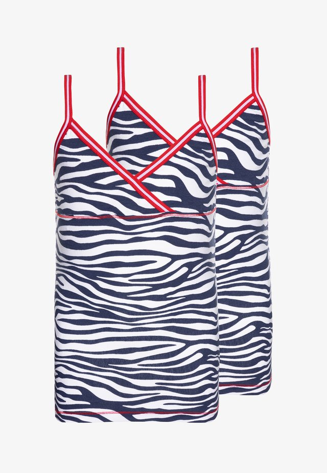 GIRLS 2 PACK SINGLET - Aluspaita - white