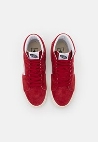 Vans - SK8 UNISEX  - Høye joggesko - chili pepper/true white - 3