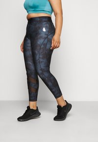 Active by Zizzi - AROSLIN 7/8 - Leggings - multi-coloured - 0