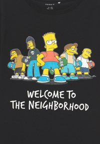 Name it - SIMPSONS BART ATLA - Print T-shirt - black - 2