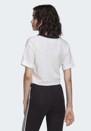 CROP TOP - T-shirt basique - white