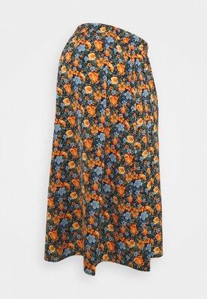 MLSIGA SKIRT - A-line skirt - twilight blue