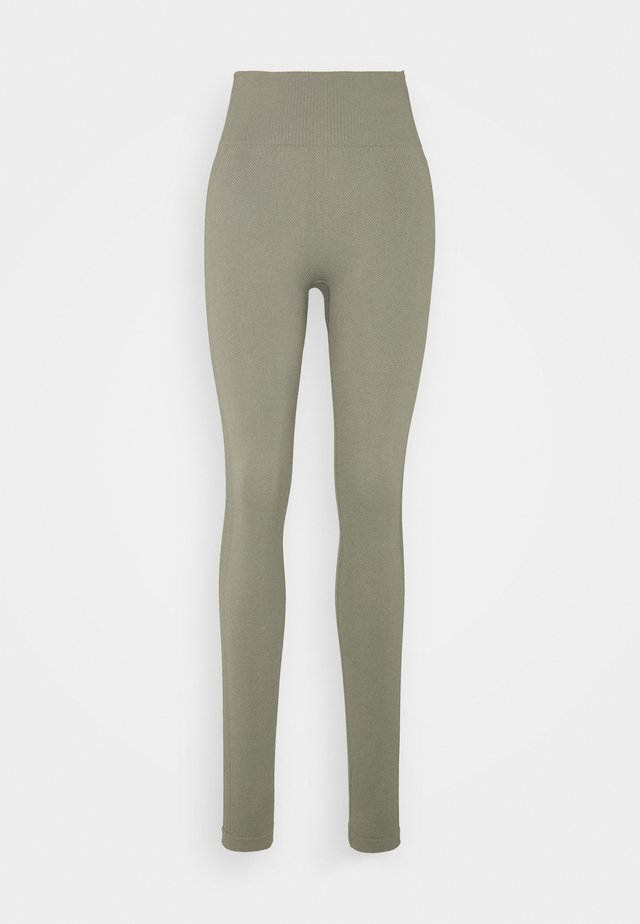 LIFESTYLE SEAMLESS - Legging - steely shadow