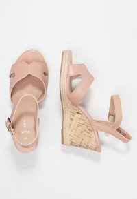 New Look Wide Fit - WIDE FIT POTTER - High heeled sandals - oatmeal - 3