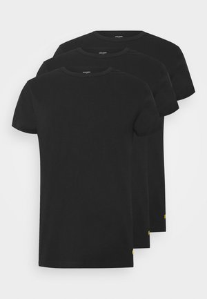 MAXWELL 3 PACK - Pyjama top - black