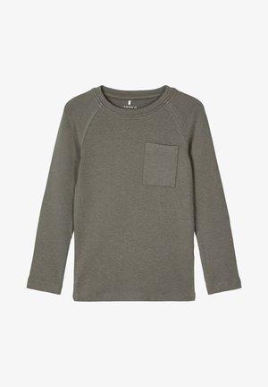 X-SLIM - Long sleeved top - castor gray