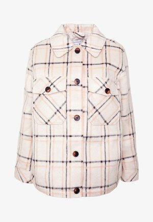 CISSY CHECK - Light jacket - off-white