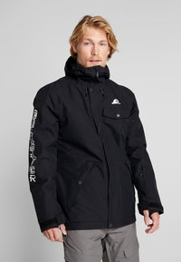 Quiksilver - IN THE HOOD - Laskettelutakki - black - 2