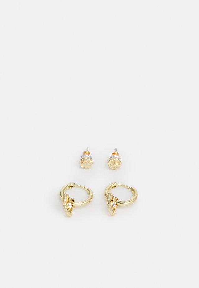 EARRINGS POESY 2 PACK - Korvakorut - gold-coloured