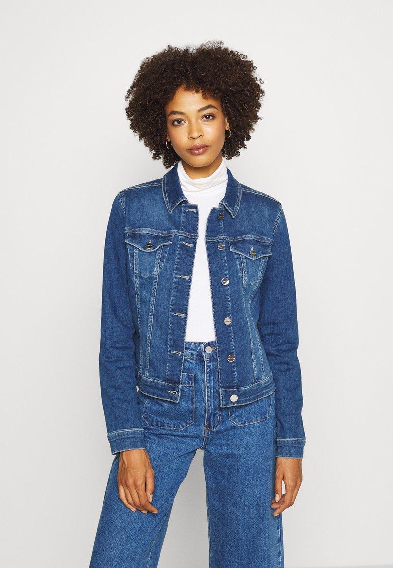 comma - Denim jacket - blue denim