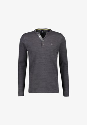 SERAFINO - Long sleeved top - slate grey