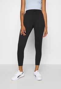 Even&Odd - High Waist Lightweight Slim Jogger - Tracksuit bottoms - black - 0