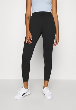 High Waist Lightweight Slim Jogger - Joggebukse - black
