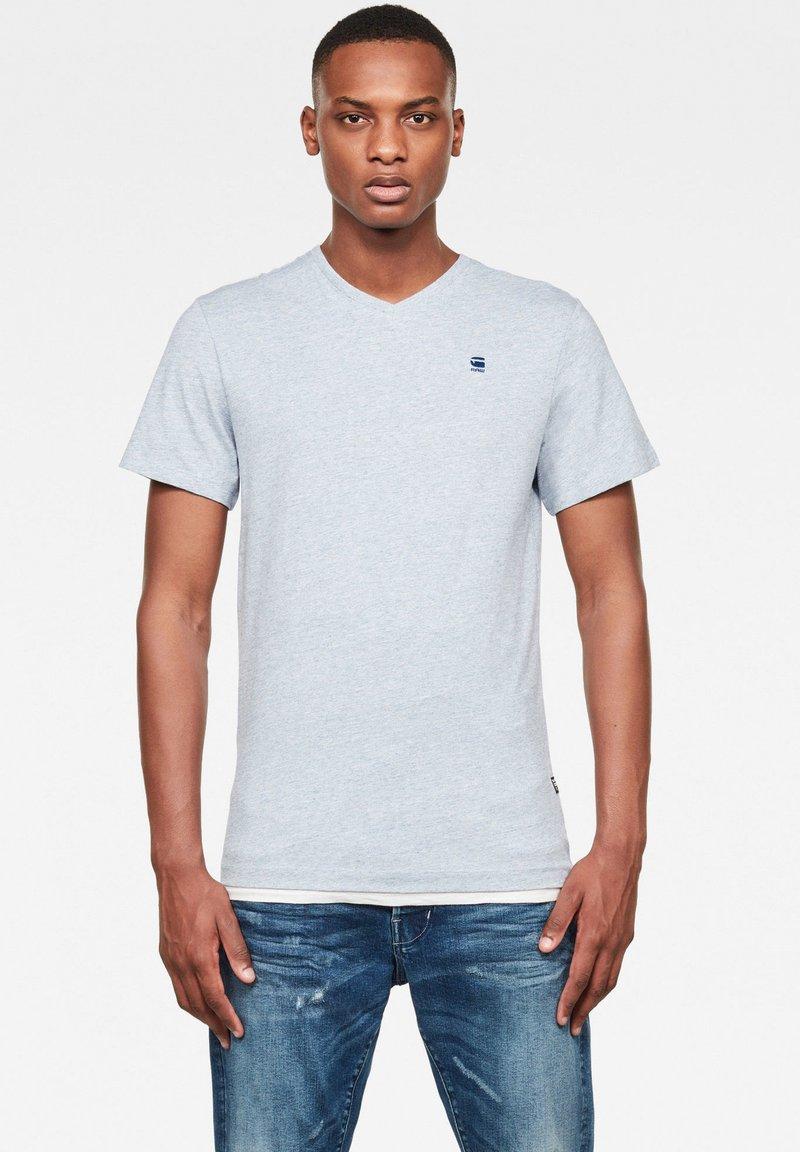 G-Star - BASE-S - Basic T-shirt - thermen htr