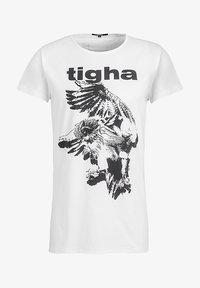 Tigha - Print T-shirt - white - 4