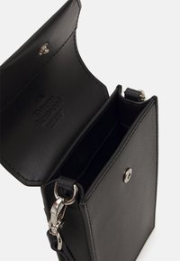 Vivienne Westwood - DEBBIE PHONE BAG UNISEX - Phone case - black - 2