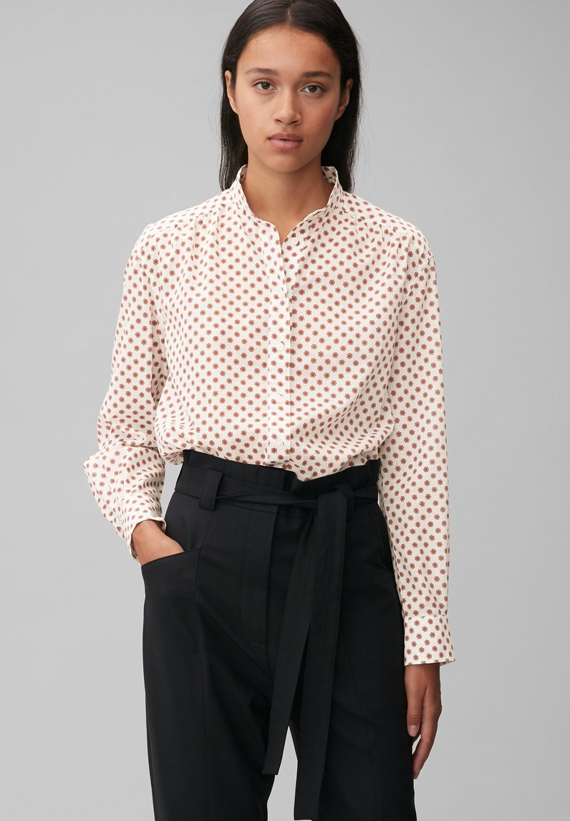 Marc O'Polo - VOILE - Button-down blouse - white, white