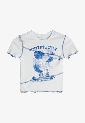 T-shirt imprimé - bllue