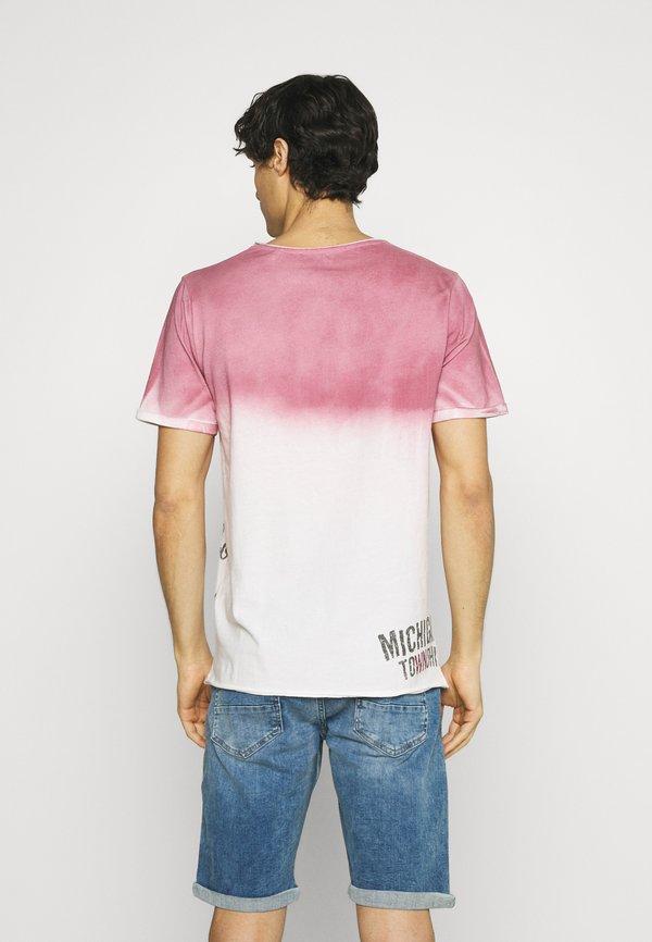 Key Largo T-shirt z nadrukiem - dusty red/czerwony Odzież Męska XZXT
