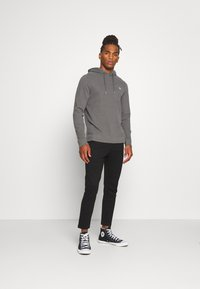 Abercrombie & Fitch - ICON HOOD - Jersey con capucha - grey - 1