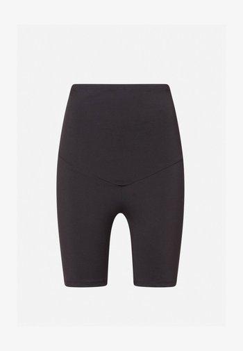 MATERNITY COMFORT - 3/4 sports trousers - black