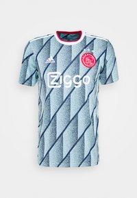 adidas Performance - AJAX AMSTERDAM AEROREADY FOOTBALL - Club wear - ice blue - 0