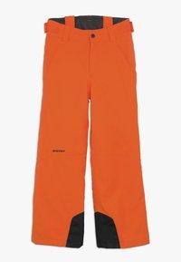 Ziener - ANDO JUNIOR - Snow pants - bright orange - 2