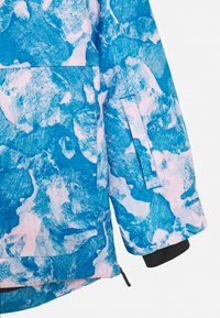 Kjus - GIRLS MARA JACKET - Kurtka snowboardowa - blue/pink - 2