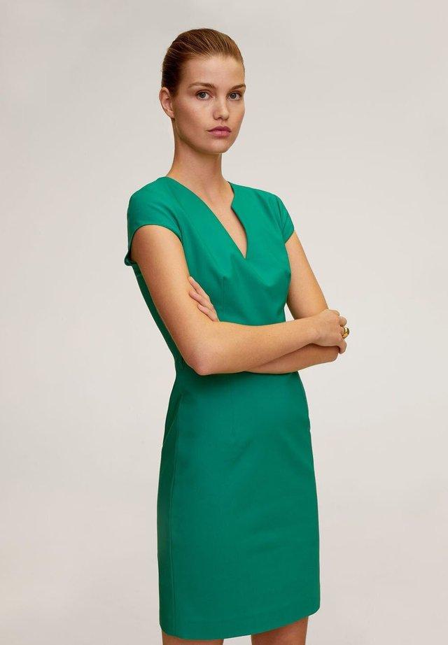 COFI6-N - Robe d'été - verde