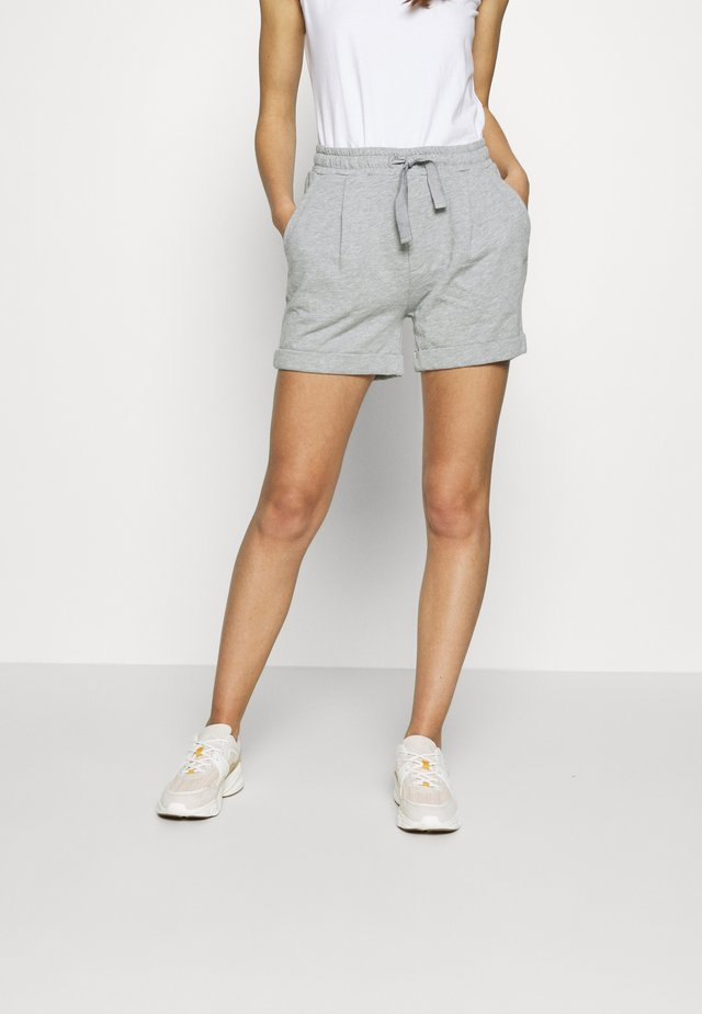 MILLE - Shortsit - grey melange