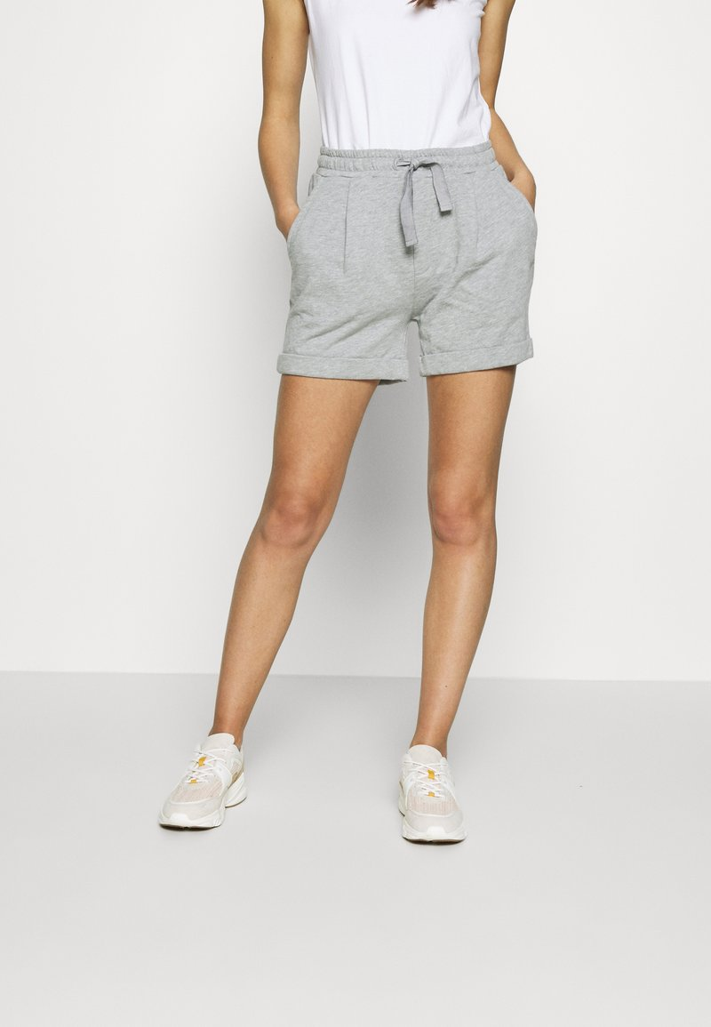 esmé studios - MILLE - Shorts - grey melange